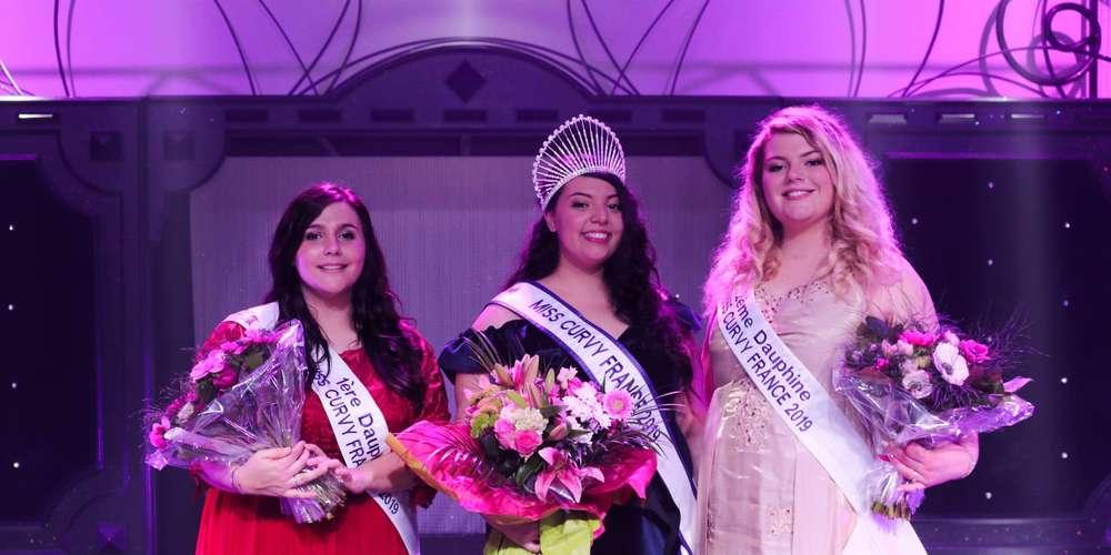 Miss Nouvelle-Aquitaine sacrée Miss Curvy 2019
